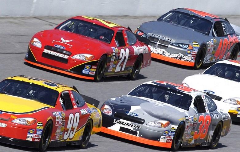 NASCAR-Racing-Autos